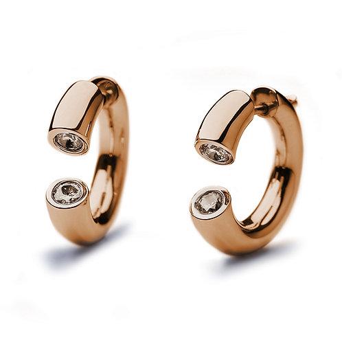 DIALOG Rose Gold Earrings