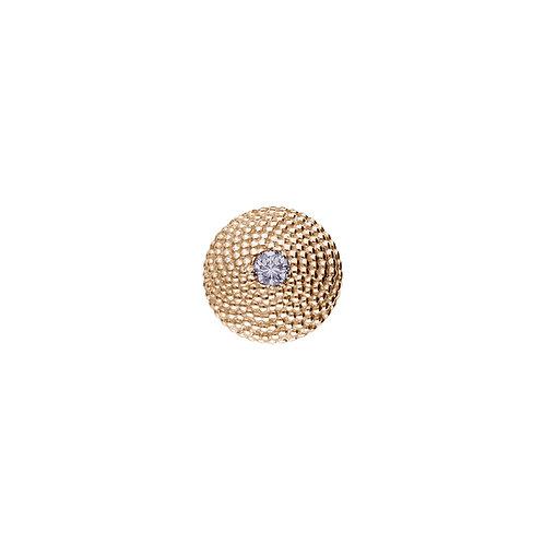 10mm FIBONACCI Diamond Centerpiece in Rose Gold
