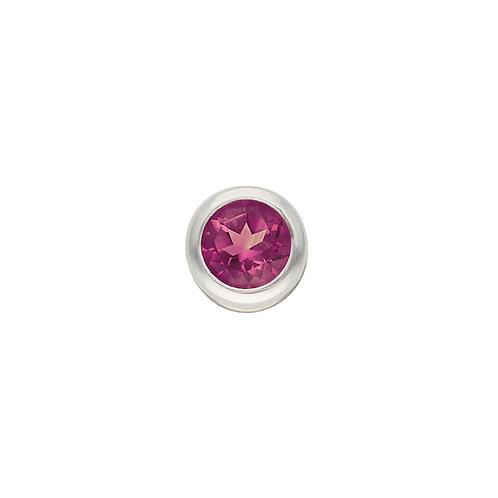 Pink Tourmaline TOUCHSTONE Cylinder