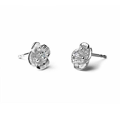 DIAMOND FLOWER Veronica Earrings