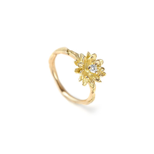 DIAMOND FLOWER Daisy Ring