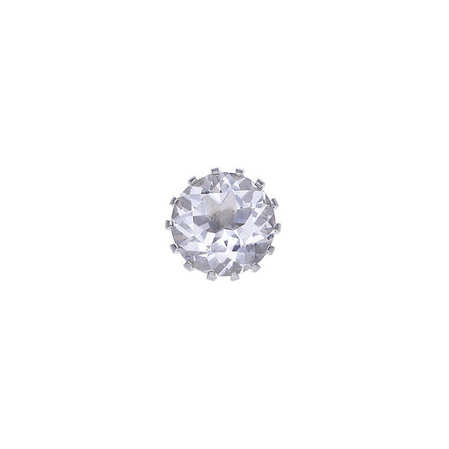 10mm Rock Crystal CROWN Centerpiece