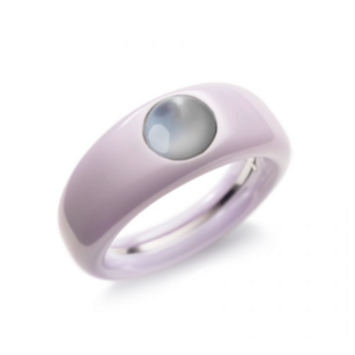 Ceramic TOUCH ring in Lavender