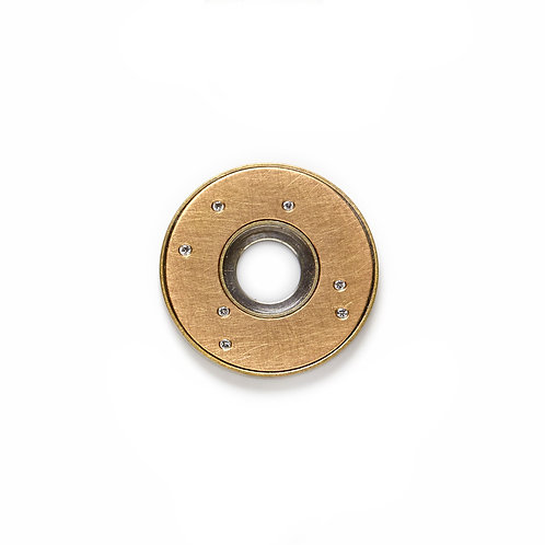 24mm Gold STELLA Disc