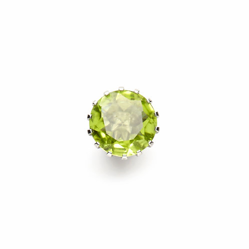 10mm Peridot CROWN Centerpiece