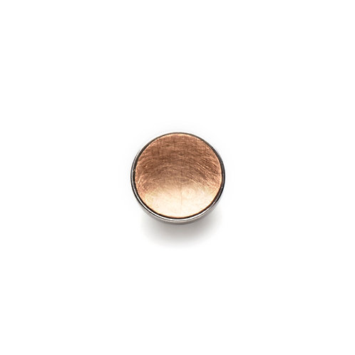 10mm Rose GOLD BUTTON Matte