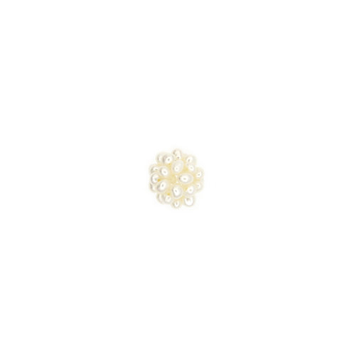 12mm White Pearl Cluster Pendant