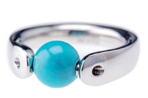 Turquoise tipit-S Ball