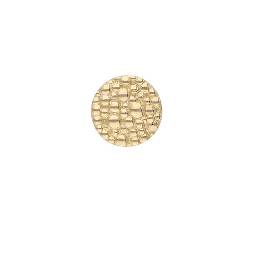 TOUCH GOLD BUTTON Beaded