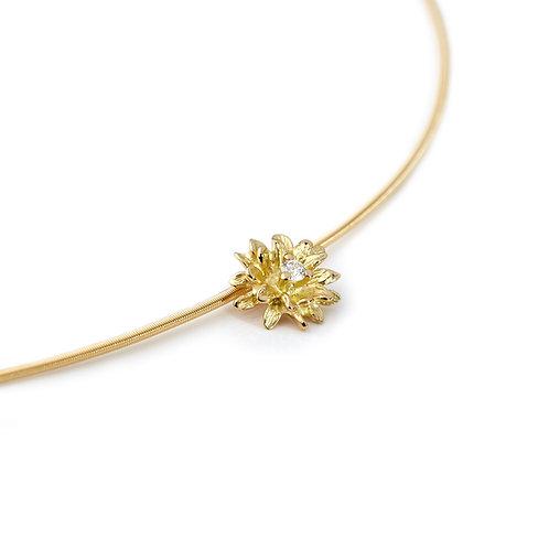 DIAMOND FLOWER Daisy Pendant