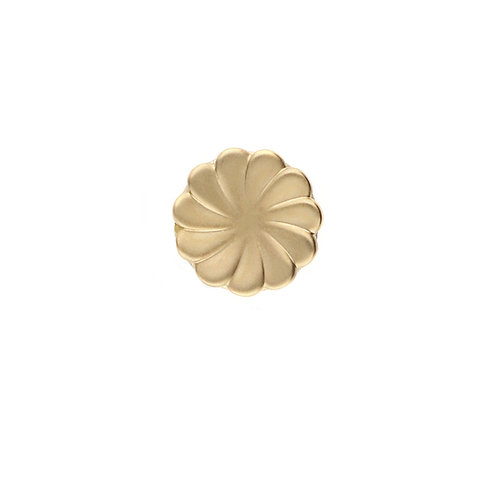 TOUCH GOLD BUTTON Flower