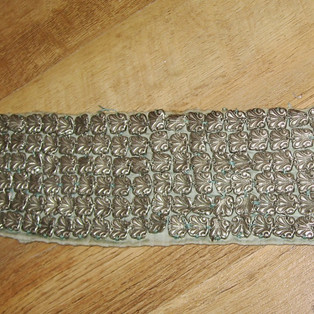 Silver praying-shawl ornaments (East Europe, around 80 years old)