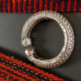 Old oriental rug, Moroccan bracelet