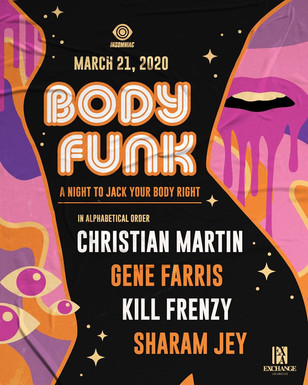 3/21 - Christian Martin, Gene Farris, & More @ Exchange LA