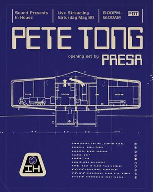 5/30 - Pete Tong / Presa LIVESTREAM