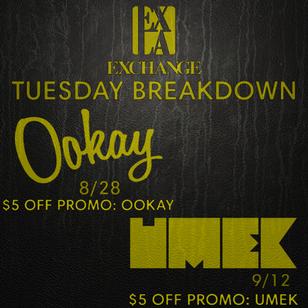 EXCHANGE LA   OOKAY / UMEK