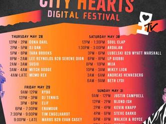 City Hearts Set Times!