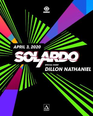 4/3 - Solardo with Dillon Nathaniel @ Academy LA