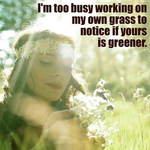 WORRY ABOUT YOUR GRASS