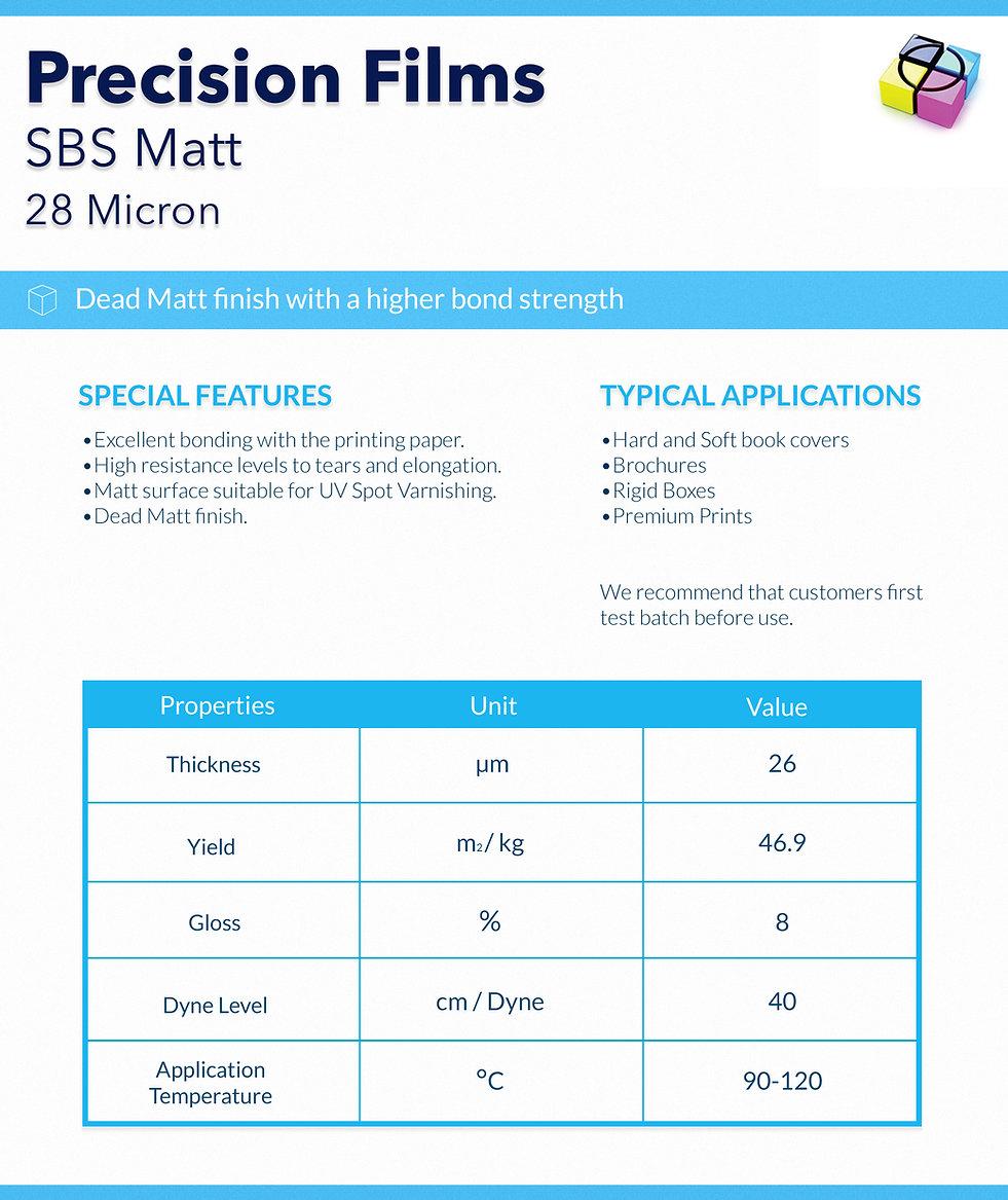 Lamination Film-SBS Matt