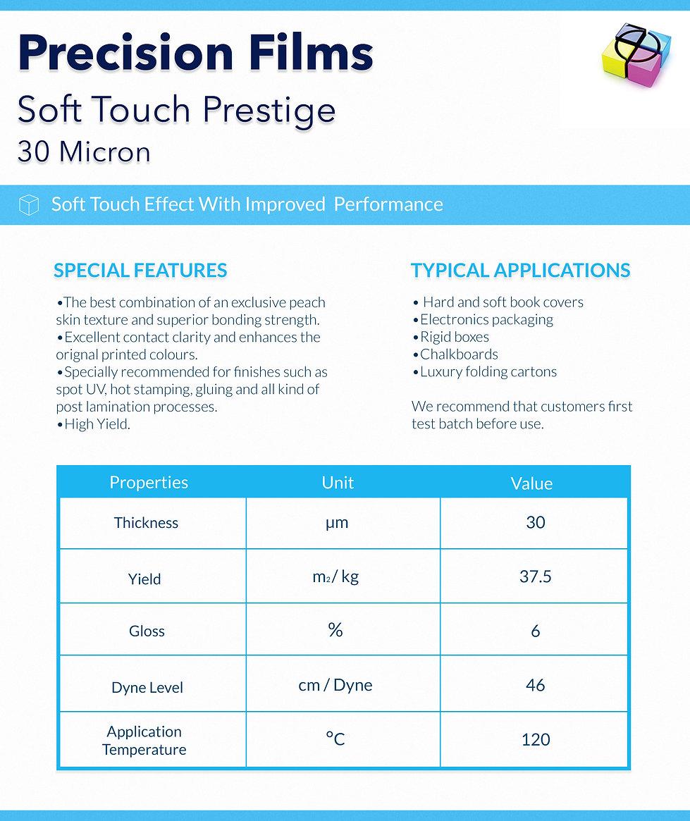 Lamination Film-Soft Touch Prestige