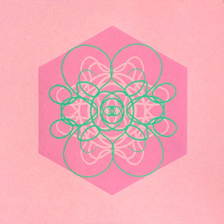 Single Cell Screen Print: Pale Pink