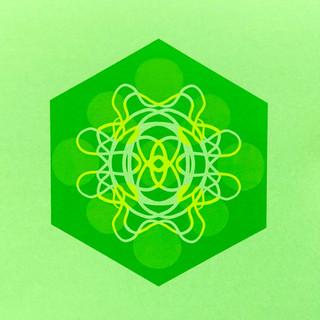 Single Cell Screen Print: Green