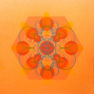 Single Cell Screen Print: Orange