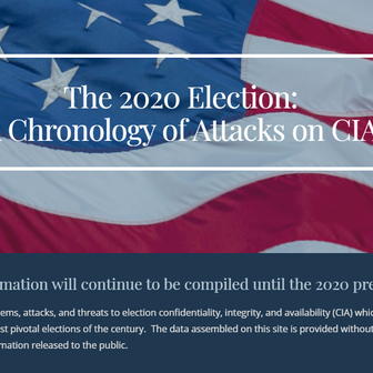 Security History of the 2020 election