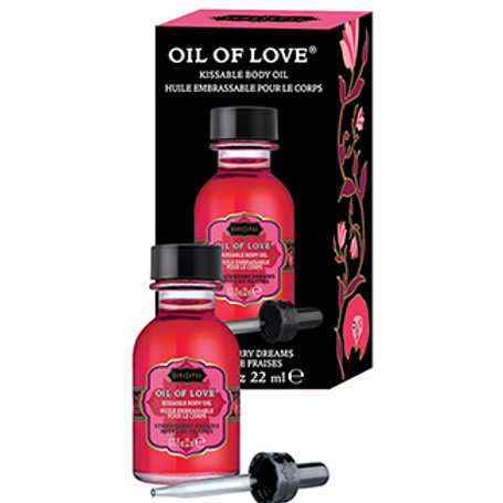 Kama Sutra Oil Of Love-Strawberry Dreams .75oz
