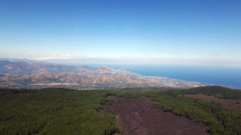 Etna Jeep Tour, Amazing view