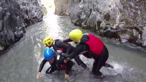 Alcantara Gorge Body Rafting Video