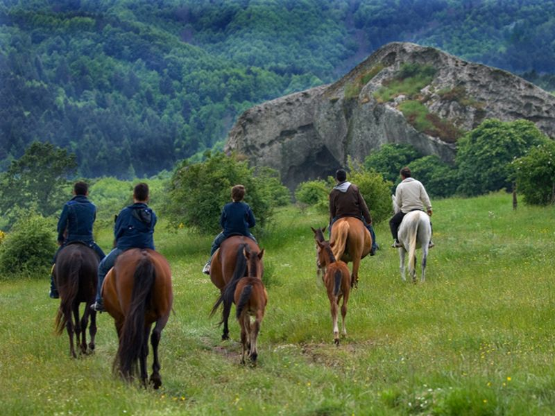 Sicily horse tours for beginners