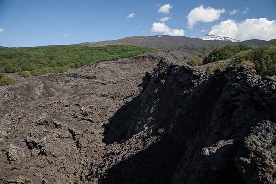 Lava Flow on Etna