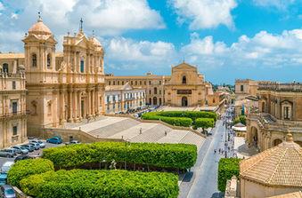 Noto Capitale del Barocco, Tour in Sicilia