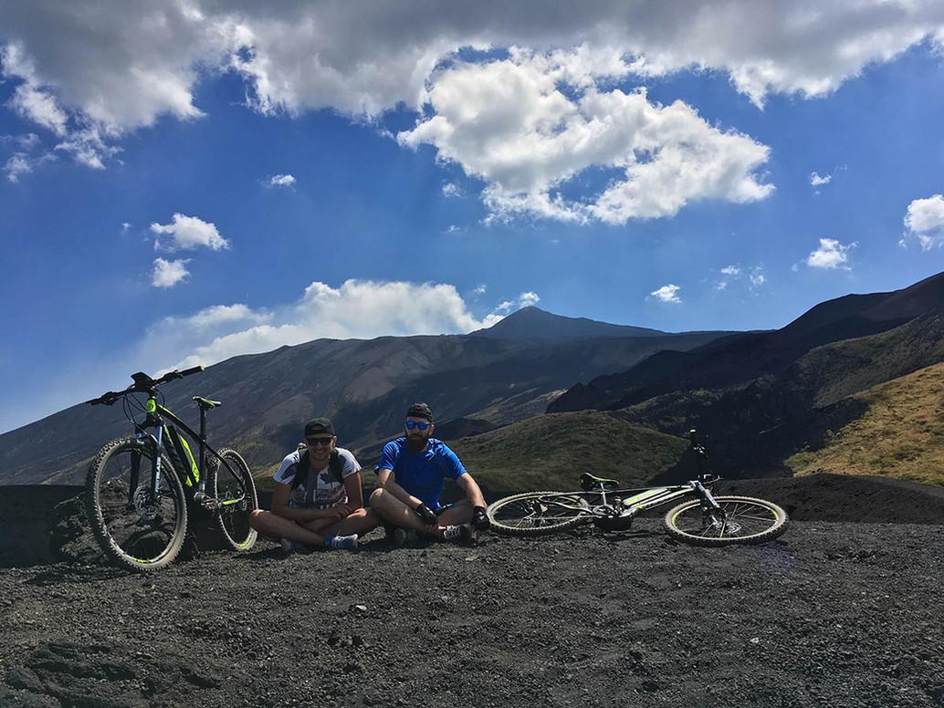 Percorsi MTB Etna, Crateri
