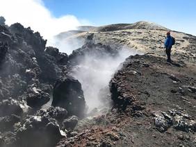 Fumarole, Etna Trekking, 3340 metri
