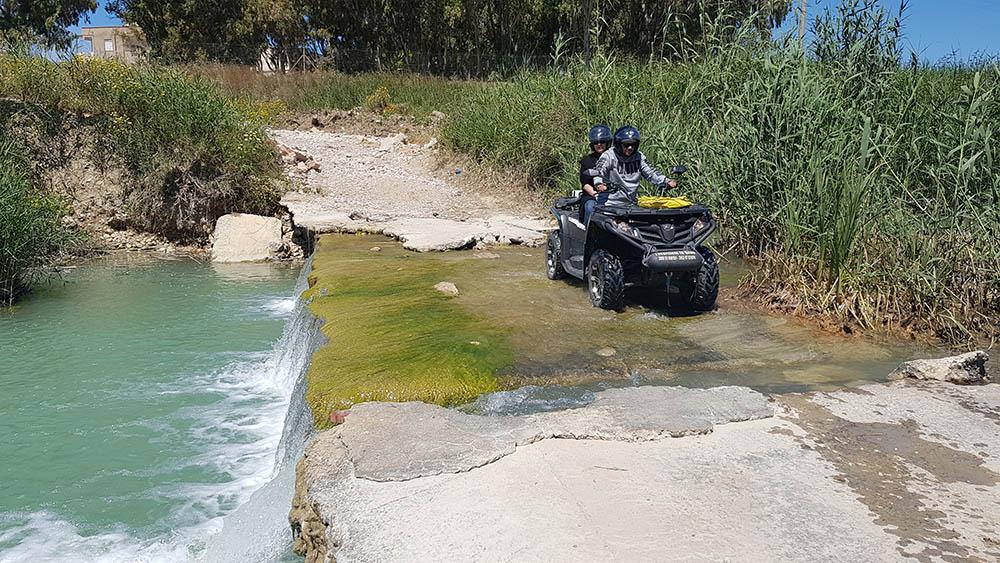 Crossing River, Quad Bikes Sicily