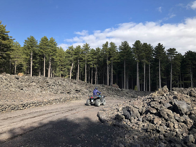 Etna Quad Tour
