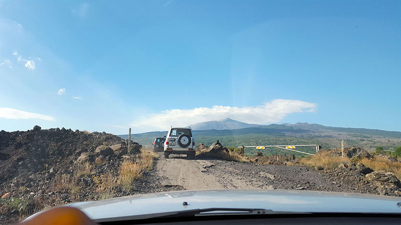 Etna Jeep Tour, Lava field