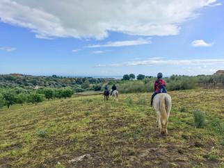 Panorama, Passeggiate a cavallo Sicilia, Agrigento