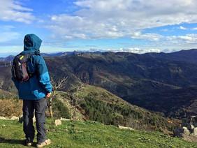 Panorama sul Bosco di Malabotta, Trekking Sicilia