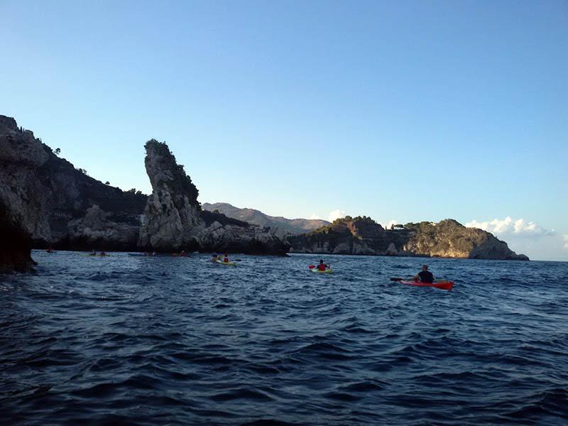 Isolotti, Escursioni Kayak Catania