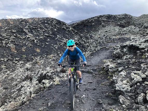 Single Track sulla lava, Noleggio eBike Catania