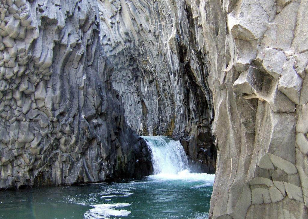 Venere waterfall, Alcantara Quad Tour