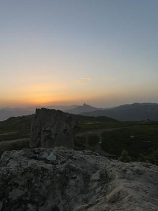 Tramonto sull'Altopiano, Escursioni Sicilia