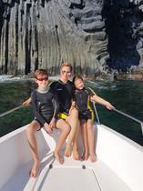 Basaltic Cliffs, Catania Boat Tour