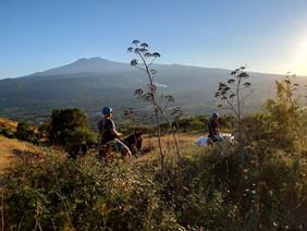 Vista Etna, Escursione a Cavallo