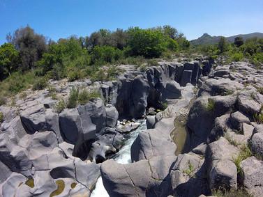 Piccole Gole, Escursioni Alcantara
