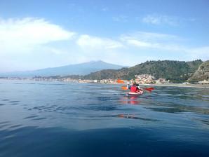Etna view, Kayaking in Sicily